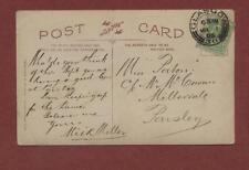 Miss Paton, c/o Mrs Cowan, Millervale, Paisley 1905 - Mick Miller   qj 245