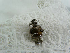 Vintage Sterling Silver Touchwood Nuvo Cowboy Charm