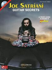 Joe Satriani Guitar Secrets Learn to Play Rock TAB Lesson Music Book & CD