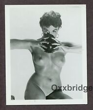 PAMELA GREEN Nude Model UK Burlesque Star Dancer 1950 ORIGINAL PINUP PHOTO B1199