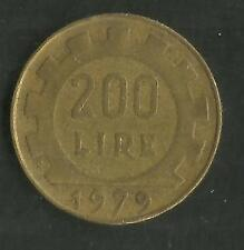 ITALY 1979 200 LIRE COIN