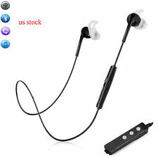 Sports Bluetooth Headset Stereo Headphone US Ship For Samsung Galaxy Note 5 4 3
