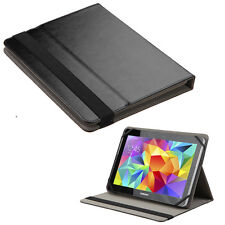 """Black Universal 8.9"""" 9"""" 9.5"""" 9.7"""" 10"""" 10.1"""" Tablet Smart Leather Stand Case"""
