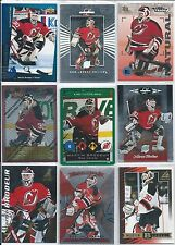 Martin Brodeur  All Different 25-Lot  w/ Inserts & High End Base Cards  Lot 1