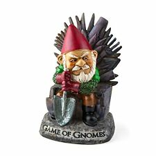 "BigMouth Inc ""Game of Gnomes"" Garden Gnome Statues, New, Free Shipping"