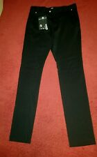 $450.00 Versace Versus Men's Black Pleated Trousers Size 30 IT 46