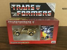 E-Hobby Takara Transformers Collectors Edition Cybertron G1 Gold Chrome Jazz