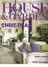 HOUSE & GARDEN, IDEAS FOR CHRISTMAS, DECEMBER, 2012 (  STYLE INSIDE AND OUT )