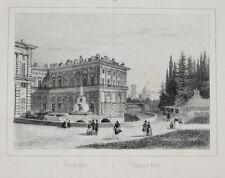 C1840 Firenze Firenze Palazzo Pitti litografia-vista Arnout