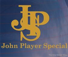 JPS John Player Special F1/Formula One Livery Car/Window/Bumper Sticker - LARGE