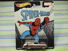 2015 hot wheels pop culture 64 nova delivery spider man real riders