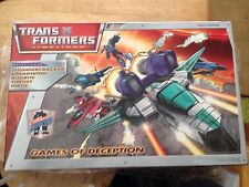Transformers BotCon 2007 Timelines Classics Timelines Games of Deception Set