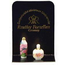 Reutter Porzellan Kosmetikflasche / Cosmetic Oil Puppenstube 1:12 Art. 1.902/0
