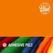 Led orange feutre auto adhésif vinyle fablon-largeur 45cm vendu au mètre