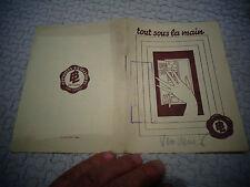 Ancien Catalogue Armoire Métallique B.L Placard Vestiaire Buffet Déco Atelier