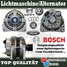 AUDI FORD SEAT SKODA VW 90a ALTERNATORE ALTERNATOR BOSCH ORIGINALE!!!