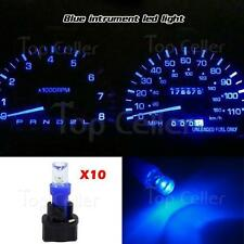 10x PC74 Bulbs Kit Indicator Dash Check Engine Instrument lights Blue For Ford