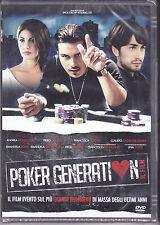 Dvd **POKER GENERATION** nuovo sigillato 2012
