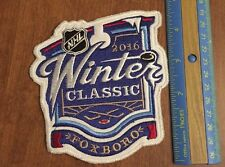 2016 WINTER CLASSIC Foxboro PATCH NHL BOSTON BRUINS Vs CANADIENS Sew-on Jersey
