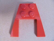 LEGO 47407 @@ Wedge, Plate 4 x 6 (x1) @@ RED @@ ROUGE