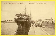 cpa ROCHEFORT SUR MER Bassin 3 Navire S.S GEORGIA HELSINGBORG Sweden Equipage ?