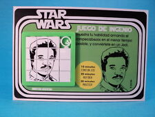 STAR WARS LANDO CALRISSIAN (Billy Dee Williams) SLIDE PUZZLE CARDED ARGENTINA