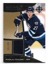 2015-16 UD Ultimate Collection ROOKIE Jersey #118 NIKOLAJ EHLERS Serial #128/149