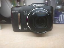 Canon PowerShot SX160 IS 16.0 MP Digital Camera - Black