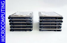 "Wholesale lot of 10 160GB Laptop SATA Drives 2.5"" Mix brands WORKING"