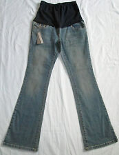 "SOUTH Maternity Bootcut Over Bump Stretch Jeans Size 8L 31""Leg BNWT"