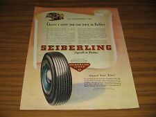 1945 Print Ad Seiberling Tires Name You Can Trust Akron,OH Toronto,Canada