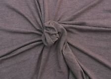 "Modal Spandex 4 Way Fabric Jersey Knit - Heather Mauve By the Yard 59""W #11 2/16"