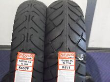 YAMAHA V-STAR 650 CLASSIC XVS650 TIRE SET MOTORCYCLE TIRES 130/90-16 170/80-15