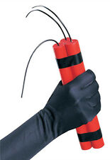 Fake Red Dynamite Phoney TNT Prop Hallowee Costume Accessory for Fun Gags 55424