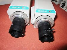 Lot of 2 - Panasonic WV-CP234 Color CCTV Camera With Computar TV Lens 3.5-8