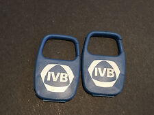 2 Industrial Valley Bank and Trust Company advertising blue plastic key fobs