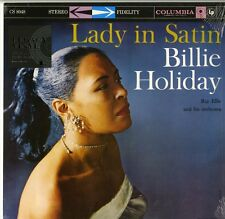 BILLIE HOLIDAY LADY IN SATIN VINILE LP 180 GRAMMI NUOVO E SIGILLATO !