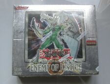 YU-GI-OH Enemy of Justice 1st.Ed. New Factory Sealed box in GEM MINT condition!