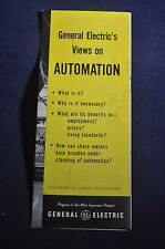 1956 General Electric's Views on Automation