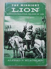 MIDNIGHT LION~Gustavus Adolphus~SOLDIER OF GOD~Alfred Klausler~HCDJ 1957~PROTEST