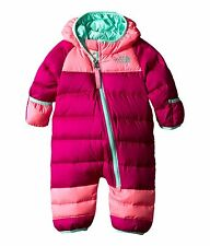 NEW! The North Lil' Snuggler Down Suit, Snowsuit Hooded, Infant 0 - 3m