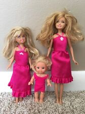 Barbie Sisters Stacie Skipper Chelsea Sim a Toddler Doll