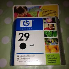 ORIGINAL HP 29 Black Inkjet Print Cartridge Printer Deskjet Deskwriter Officejet