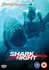 [EX-RENTAL] SHARK NIGHT - DVD - REGION 2 UK