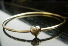 Good Karma Love Heart Bangle Bracelet gift sweet birthday Christmas wedding UK