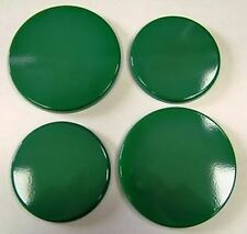 "New Set of 4 ""GREEN""  Enamel Electric Oven Hob Covers - 2 x 16cm and 2 x 20cm"