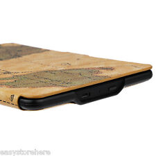 PU Leather Protective Smart Case Cover Magnetic for Kindle Paperwhite 1 / 2 / 3