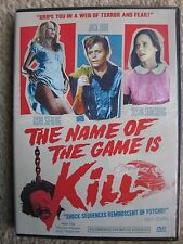 THE NAME OF THE GAME IS KILL (1968) JACK LORD, SUSAN STRASBERG - BRAND NEW!!!