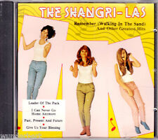 "CD -"" The SHANGRI-LAS - Remember ( Walking in the Sand ) And Other Greatest Hits"