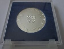 2000 SYDNEY OLYMPICS ATHLETE PARTICIPATION MEDAL ORIGINAL BOX AND STAND